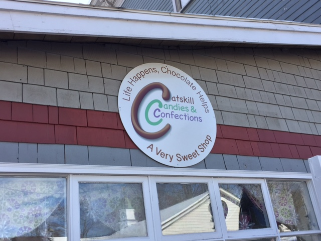 We were pleased to provide this sign for Catskill Candies and Confections in Margaretville.