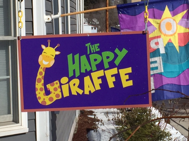 New signs we produced for the Happy Giraffe in Margaretville.